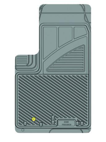 Ensemble de 4 tapis Kustom Fit pour Jeep (Gris) - image 8 de 9