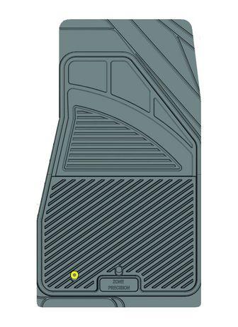 Ensemble de 4 tapis Kustom Fit pour Jeep (Gris) - image 9 de 9