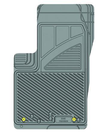 Ensemble de 4 tapis Kustom Fit pour Jeep (Gris) - image 2 de 9