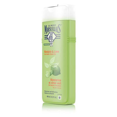 LE PETIT MARSEILLAIS Mandarin & Lime Body Wash 400ml - image 2 of 4