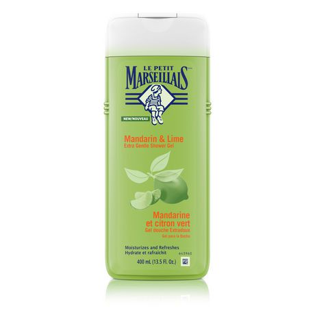 gel douche le petit marseillais mandarine et citron vert 400 ml walmart canada. Black Bedroom Furniture Sets. Home Design Ideas