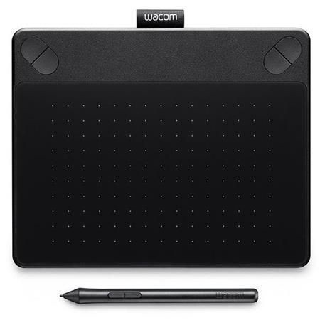 Petite tablette en noir pen touch intuos comic de wacom for Petite tablette