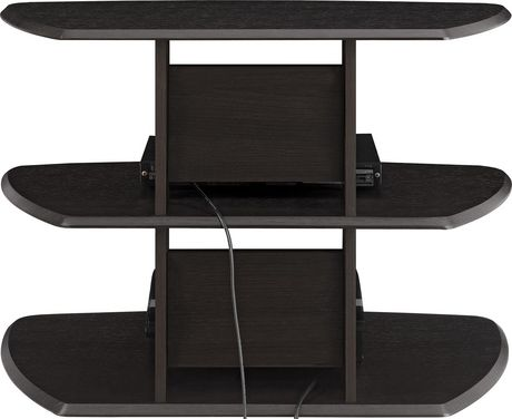 """Galaxy II TV Stand for TVs up to 32"""", Espresso - image 7 of 7"""