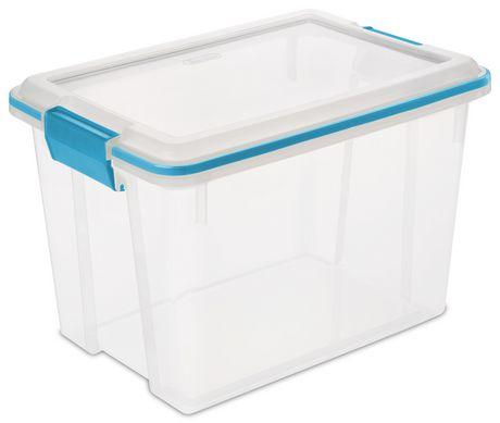 Sterilite 19 Liter Clear Gasket Box  sc 1 st  Walmart Canada & Sterilite 19 Liter Clear Gasket Box   Walmart Canada