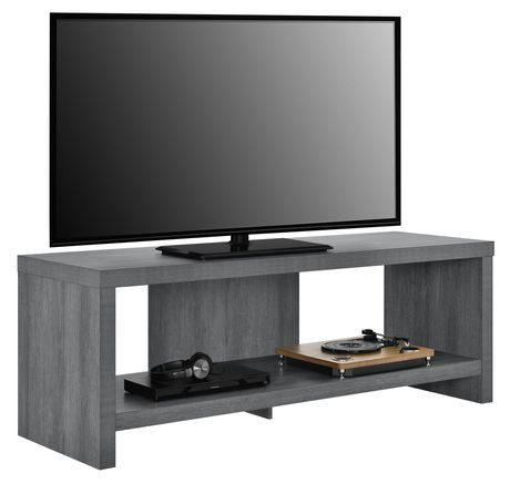 """Jensen TV Stand for TVs up to 60"""", Gray Oak - image 3 of 9"""