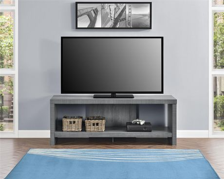"""Jensen TV Stand for TVs up to 60"""", Gray Oak - image 1 of 9"""