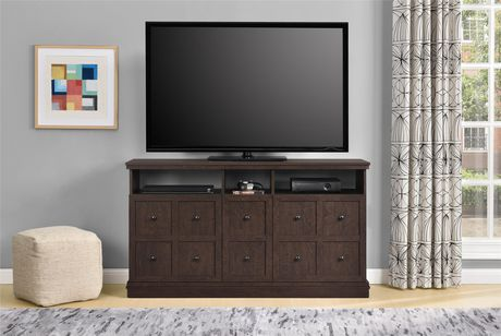 """Cooper Apothecary TV Stand for TVs up to 55"""", Espresso - image 8 of 8"""