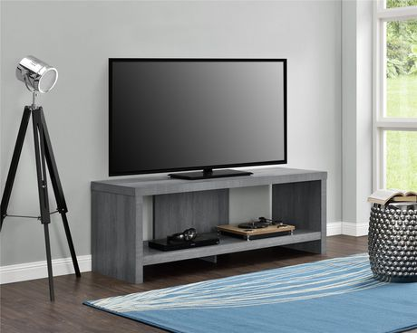 """Jensen TV Stand for TVs up to 60"""", Gray Oak - image 2 of 9"""