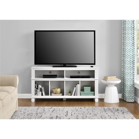 """Woodcrest TV Stand for TVs up to 55"""", White - image 4 of 7"""