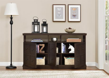 """Cooper Apothecary TV Stand for TVs up to 55"""", Espresso - image 7 of 8"""