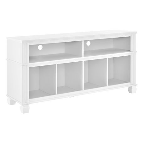 """Woodcrest TV Stand for TVs up to 55"""", White - image 6 of 7"""