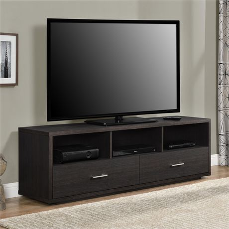 """Clark TV Stand for TVs up to 70"""", Espresso - image 1 of 9"""