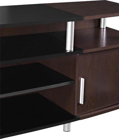 meuble pour t l viseur carson pour t l viseurs jusqu 70 po 177 8 cm walmart canada. Black Bedroom Furniture Sets. Home Design Ideas
