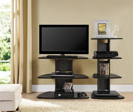 """Galaxy II TV Stand for TVs up to 32"""", Espresso - image 4 of 7"""