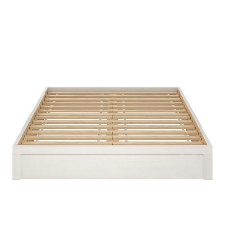 cadre de lit sommier queen walmart canada. Black Bedroom Furniture Sets. Home Design Ideas