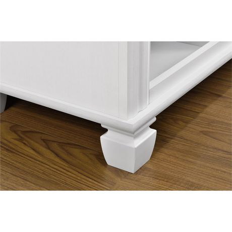 """Woodcrest TV Stand for TVs up to 55"""", White - image 5 of 7"""