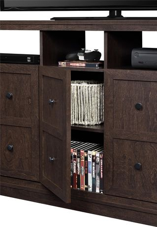 """Cooper Apothecary TV Stand for TVs up to 55"""", Espresso - image 6 of 8"""