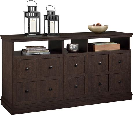 """Cooper Apothecary TV Stand for TVs up to 55"""", Espresso - image 4 of 8"""