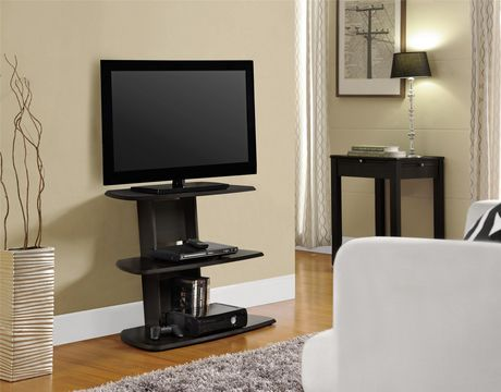 """Galaxy II TV Stand for TVs up to 32"""", Espresso - image 1 of 7"""