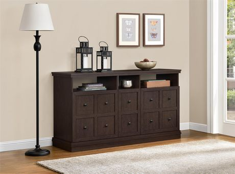 """Cooper Apothecary TV Stand for TVs up to 55"""", Espresso - image 2 of 8"""