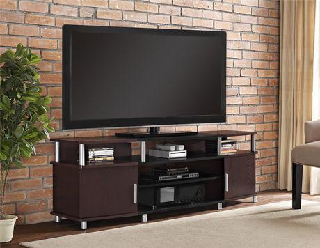 Meuble pour téléviseur Carson pour téléviseurs jusqu'à 70 po (177,8 cm) - image 1 de 9