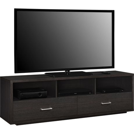 """Clark TV Stand for TVs up to 70"""", Espresso - image 2 of 9"""
