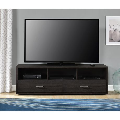 """Clark TV Stand for TVs up to 70"""", Espresso - image 4 of 9"""