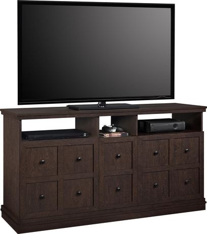"""Cooper Apothecary TV Stand for TVs up to 55"""", Espresso - image 3 of 8"""