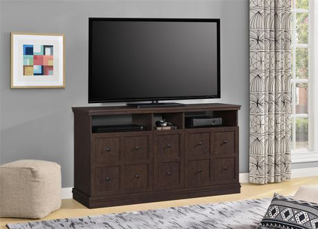 """Cooper Apothecary TV Stand for TVs up to 55"""", Espresso - image 1 of 8"""