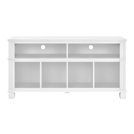 """Woodcrest TV Stand for TVs up to 55"""", White - image 7 of 7"""