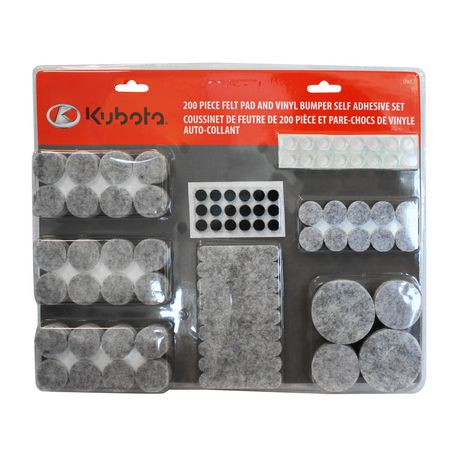 Kubota Felt Pad And Vinyl Bumper Self Adhesive Set Walmart Canada