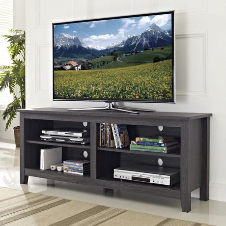 "Manor Park Minimal Farmhouse TV Stand for TV's up to 64""- Multiple Finishes - image 3 of 6"
