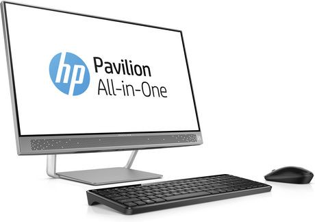 ordinateur tout en un de hp pavilion de 23 8 po avec processeur core i7 6700t d 39 intel 2 80 ghz. Black Bedroom Furniture Sets. Home Design Ideas