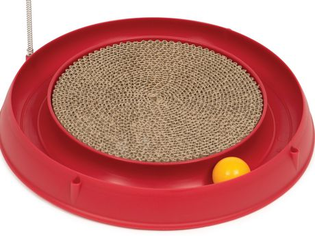 Catit Play 3 in 1 Circuit Ball Toy with Scratch Pad - image 3 of 4