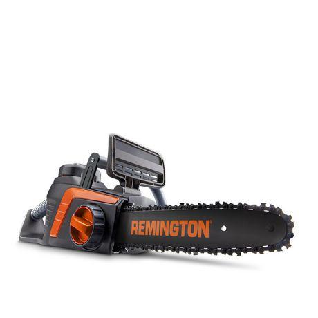 Scie à chaîne électrique sans fil Remington 40 volts Lithium Ion 12 po - image 1 de 3