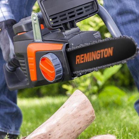 Scie à chaîne électrique sans fil Remington 40 volts Lithium Ion 12 po - image 3 de 3