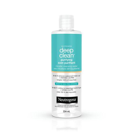 NEUTROGENA® Deep clean® Purifying Micellar Cleansing Water - image 1 of 1