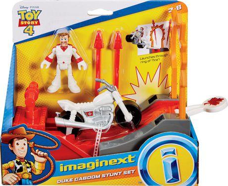 Imaginext Disney Pixar Toy Story 4 Duke Caboom Stunt Set - image 5 of 6