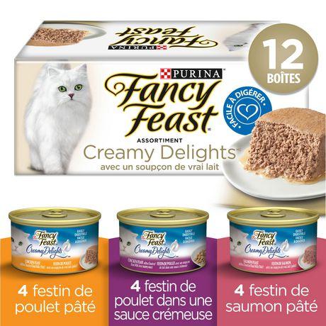 Fancy Feast Creamy Delights Assortiment Nourriture pour Chats - image 2 de 2