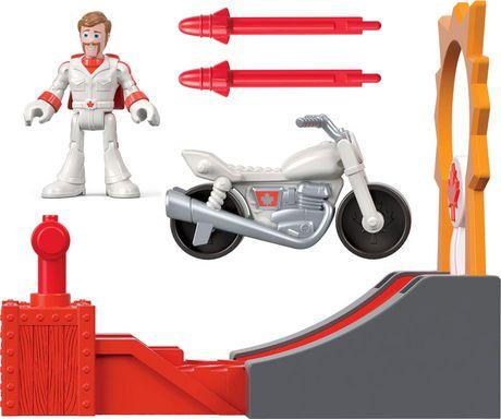 Imaginext Disney Pixar Toy Story 4 Duke Caboom Stunt Set - image 1 of 6