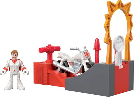 Imaginext Disney Pixar Toy Story 4 Duke Caboom Stunt Set - image 3 of 6