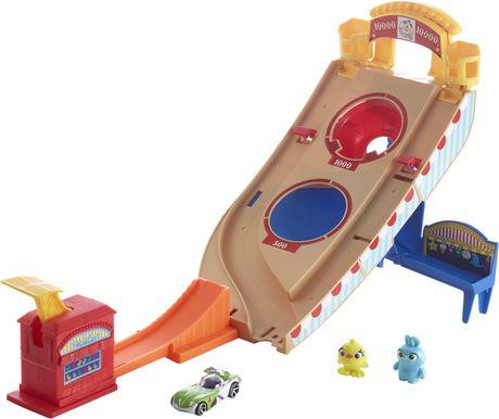 Mattel Hot Wheels Disney Pixar Toy Story Buzz Lightyear Carnival Rescue Multi