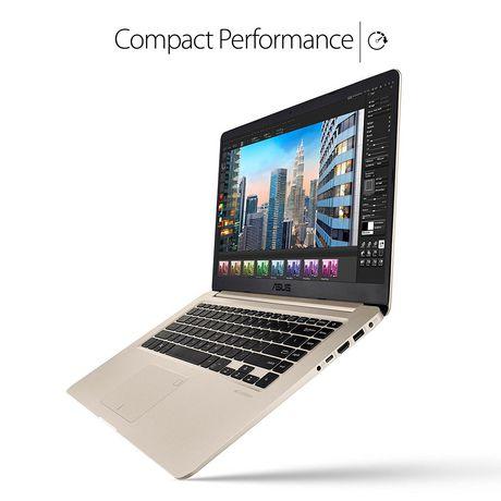 """Asus VivoBook S 15.6"""" Ultra Thin Laptop, i7-8550U Processor, Intel HD, 8GB DDR4, 128GB+1TB, Windows 10 (64bit), S510UA-DS71 - image 2 of 4"""