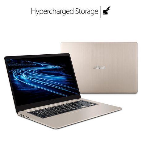 """Asus VivoBook S 15.6"""" Ultra Thin Laptop, i7-8550U Processor, Intel HD, 8GB DDR4, 128GB+1TB, Windows 10 (64bit), S510UA-DS71 - image 4 of 4"""