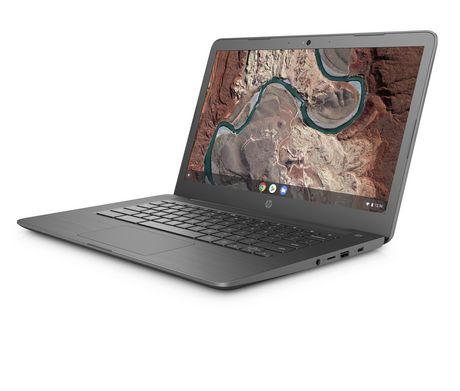 "HP 14-DB0020NR 14"" HD Chromebook, AMD Dual-Core A4-9120C APU, 5VD64UA#ABA - image 3 of 5"