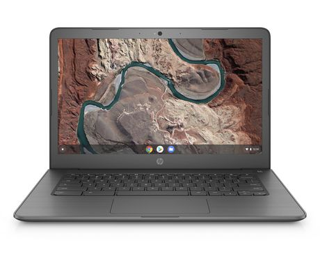 "HP 14-DB0020NR 14"" HD Chromebook, AMD Dual-Core A4-9120C APU, 5VD64UA#ABA - image 1 of 5"