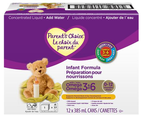 Parent's Choice Milk-Based Infant Formula with Omega-3 And Omega-6 Concentrate - image 1 of 1