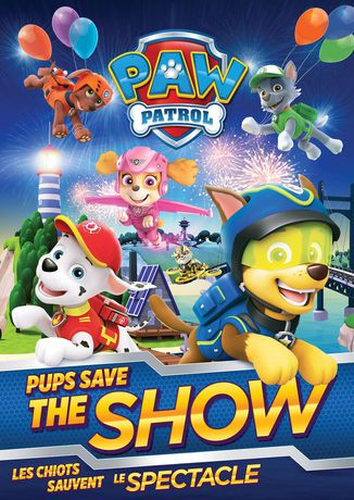 Paw Patrol Pups Save The Show Bilingual Walmart Canada