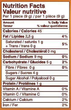 Chocolat aux noisettes enrobées de caramel et de nougat crémeux de Toffifee - image 2 de 2