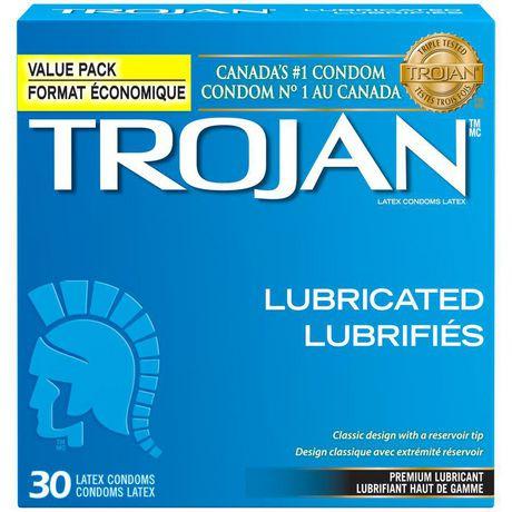 trojan premium lubricated value pack condoms walmart canada